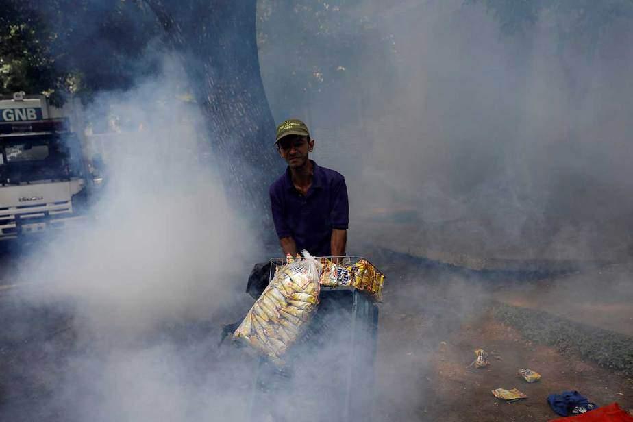 """Marcha """"contra el hambre"""" en Caracas, Venezuela (03/06/17) Reuters"""