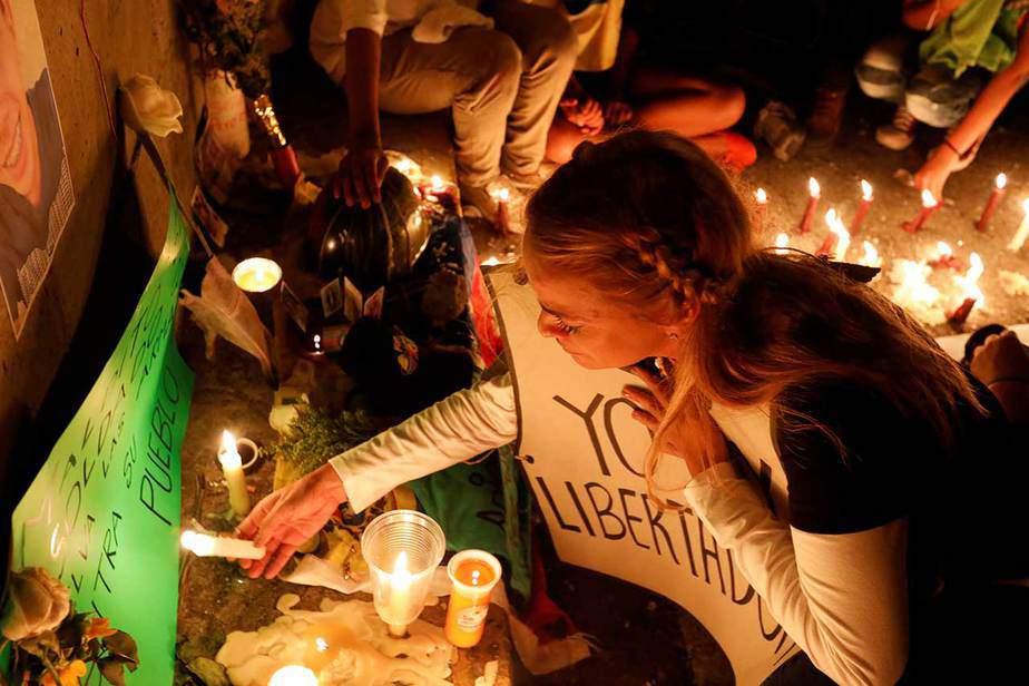 Marcha en homenaje a Neomar Lander y a los caidos en las protestas en Caracas, Venezuela (08/06/17) Reuters