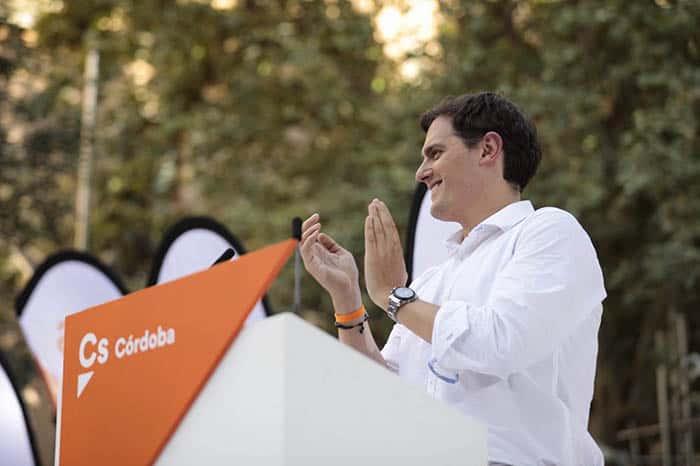 El presidente de Ciudadanos, Albert Rivera. FOTO: Flickr Ciudadanos
