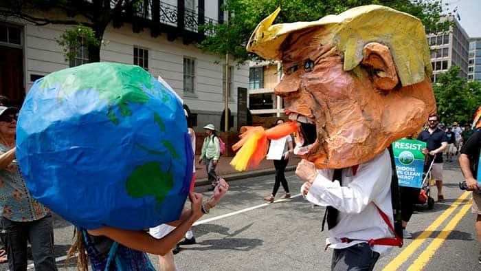 EEUU Vs Planeta - Acuerdo de París