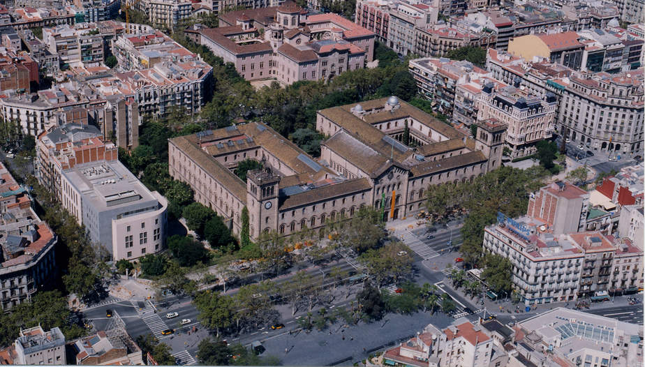Universidad de Barcelona. FOTO: UB
