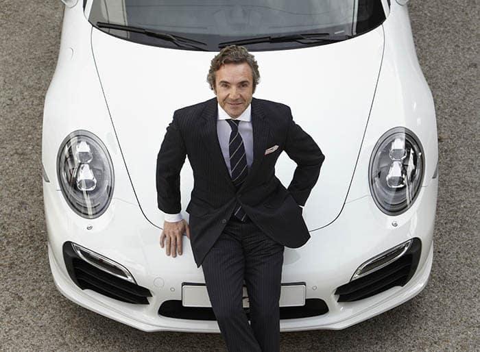 Tomás Villén, director general de Porsche.