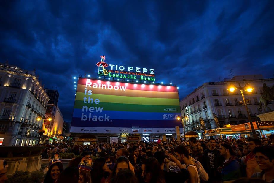 World Pride Madrid 2017 (Reuters)