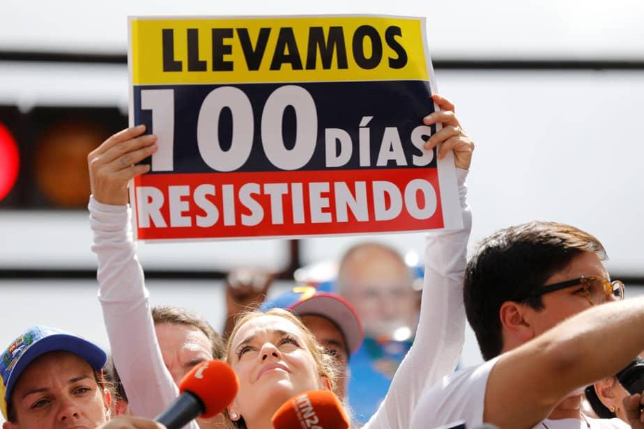 La oposición en Venezuela mantendrá su agenda de calle