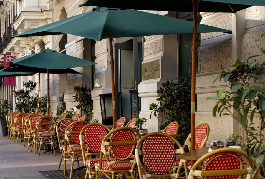 Tono Terraza : El velazquez 17 la terraza francesa del barrio de salamanca
