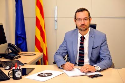 Federic Adan, exdirector de Emergencias 112 de Cataluña. FOTO: Gencat