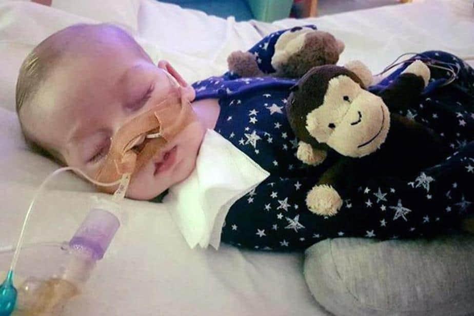 El bebé británico Charlie Gard fallece en un hospital de cuidados paliativos