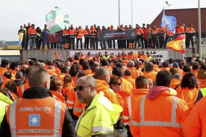 La Comisión Europea pedía una sanción de 24 millones por el retraso en el decreto de la estiba.