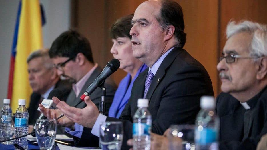 Julio Borges, presidente de la Asamblea Nacional (Parlamento) de Venezuela