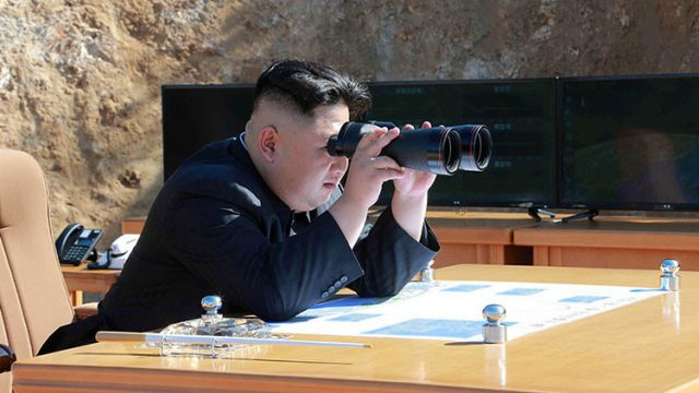El lider norcoreano, Kim Jong un