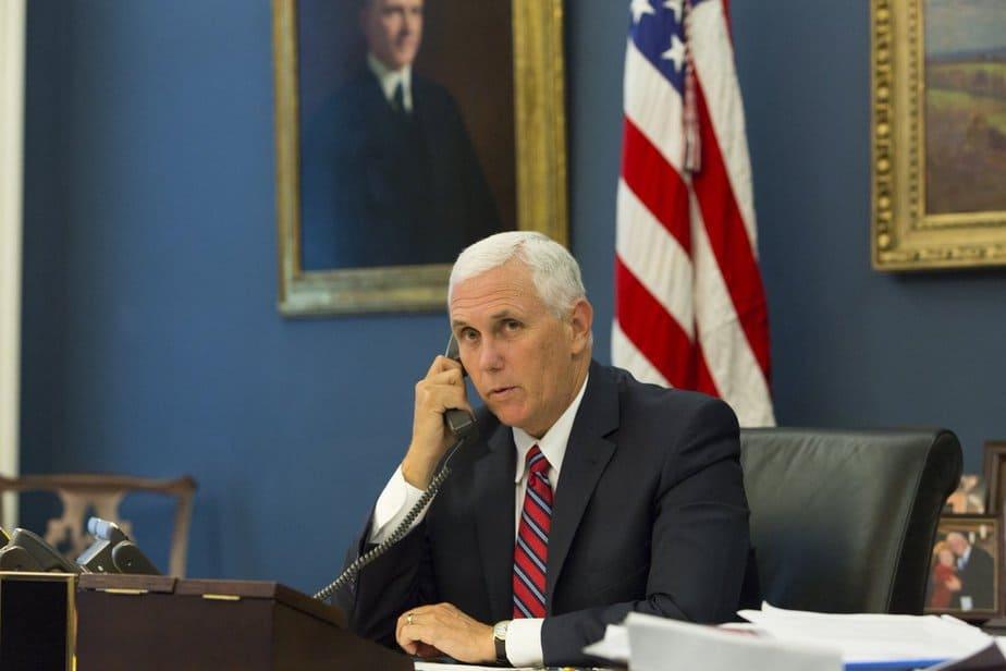 El vicepresidente de EEUU, Mike Pence