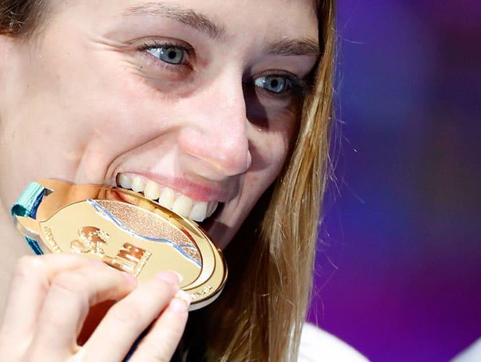 Mireia Belmonte completa su triple corona con el oro mundialista