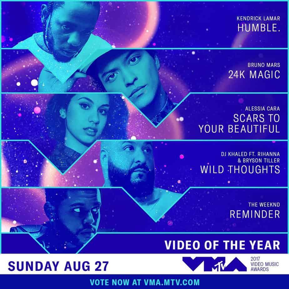 Los premios MTV Video Music Awards se celebrarán el próximo 27 de agosto