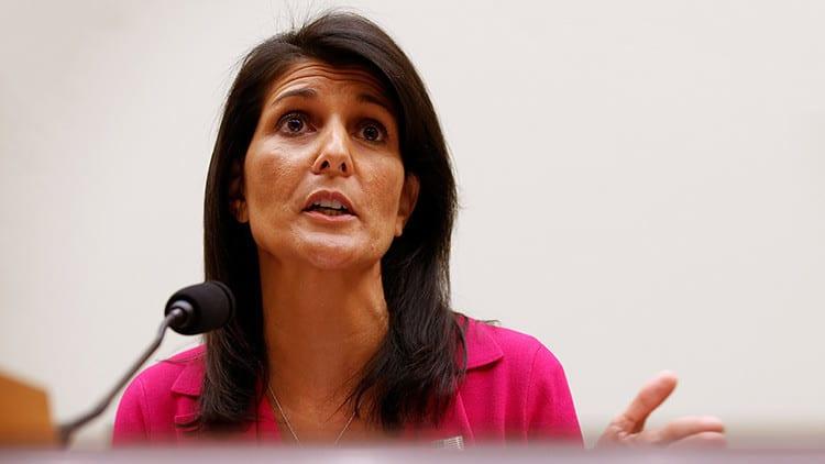 Haley dijo que las sanciones a Rusia son inminentes