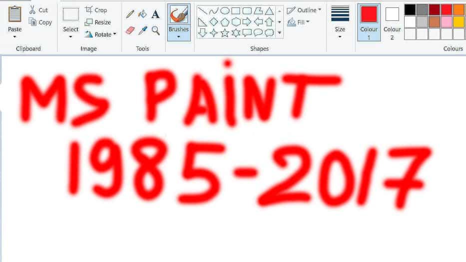 Paint de Microsoft dice adiós