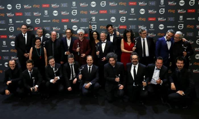 Entrega de los Premios Platino. FOTO: Reuters
