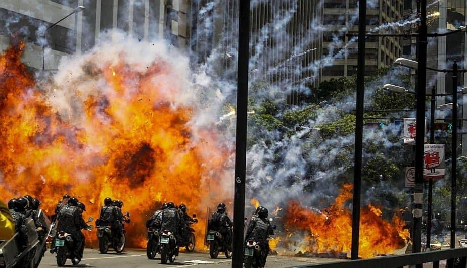 Protestas contra la Constituyente en Venezuela