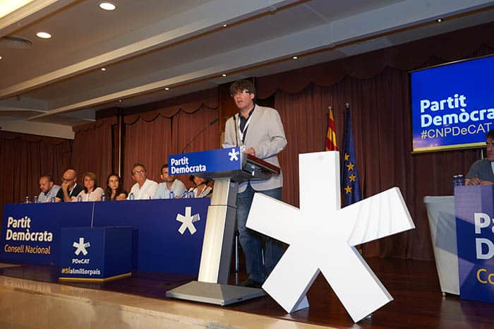 El president catalán Carles Puigdemont. FOTO: Flickr PDeCat