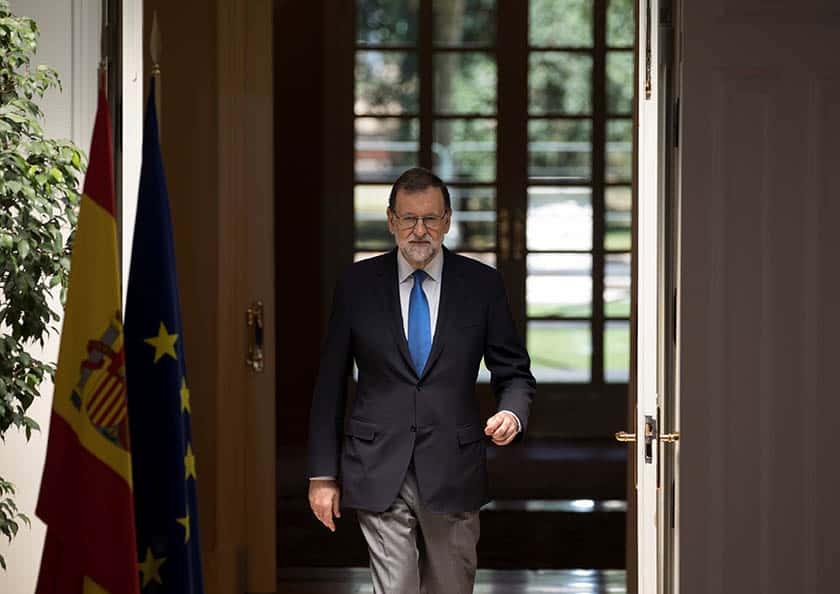 El presidente del Gobierno, Mariano Rajoy, ha anunciado el recurso ante el TC.