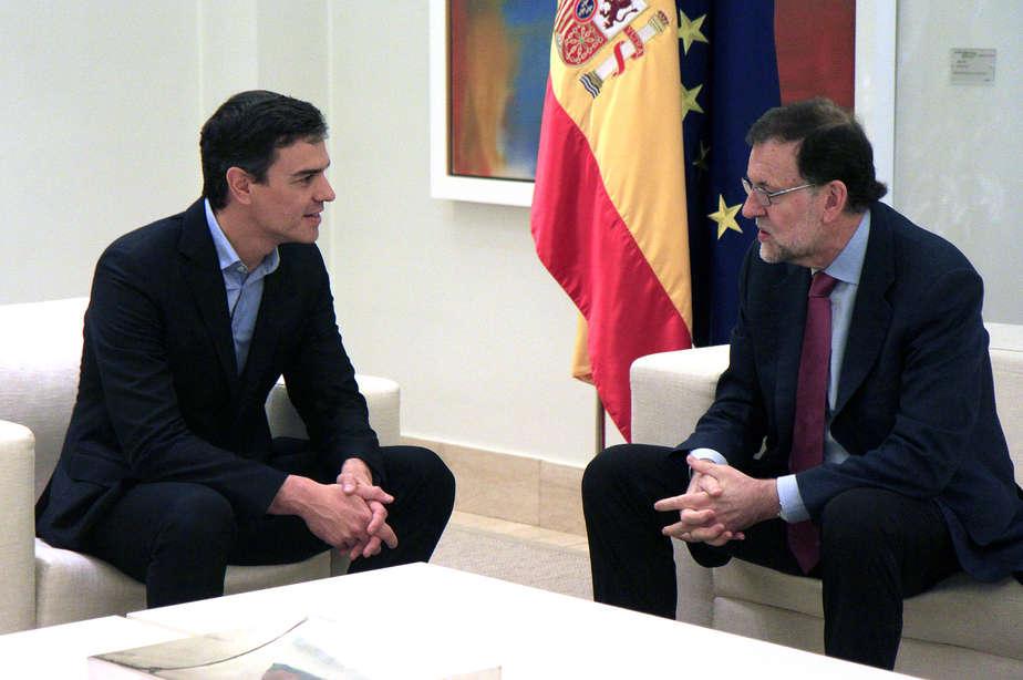 El PP celebra el apoyo del PSOE sobre Cataluña.