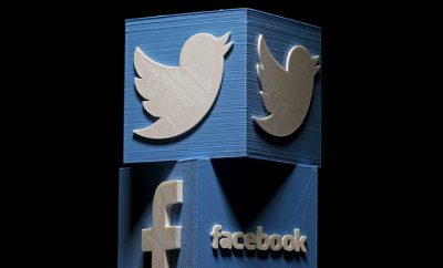Las redes sociales más conocidas son Twitter y Facebook.