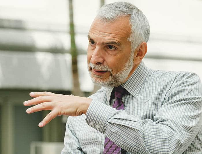 El embajador de Italia en España, Stefano Sannino. FOTO: Ángel Santamaría