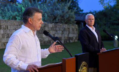 La crisis de Venezuela se cuela en la gira de Pence por América Latina