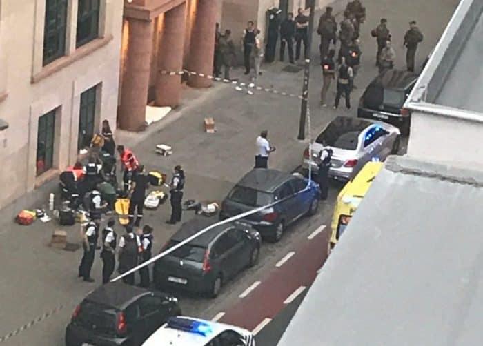 Cuchillo Alarma en Bruselas y Londres por dos ataques solitarios