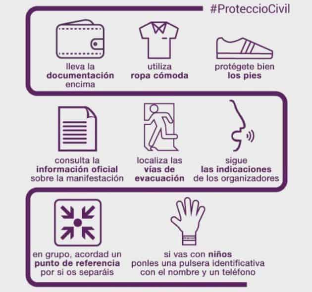 Los consejos de los Mossos para quienes asistan a la manifestación de este sábado contra el terrorismo en Barcelona