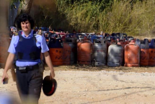 En el chalé de Alcanar se ha encontrado un cinturón de explosivos
