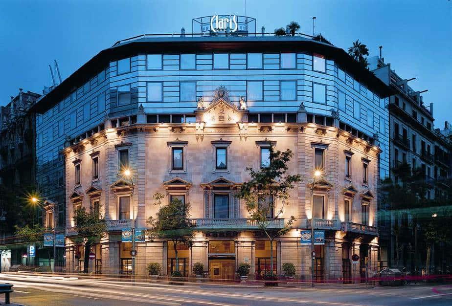 Hotel Clarins de Barcelona-España