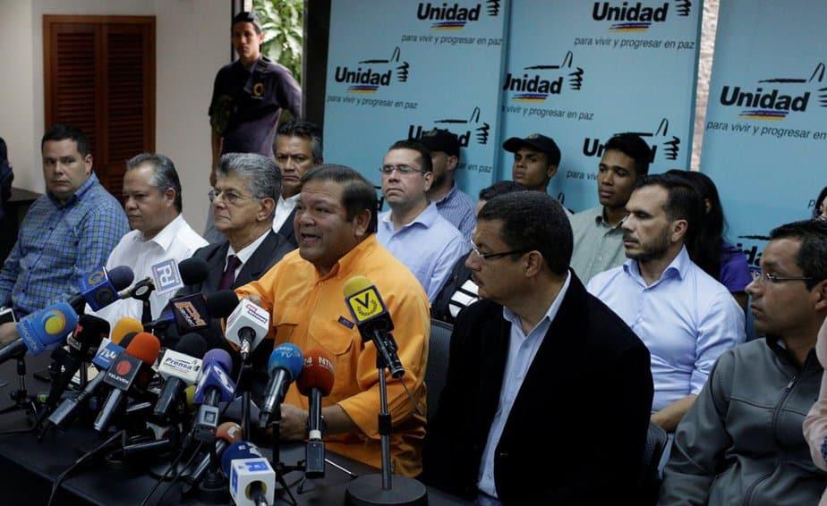 MUD -Oposición en Venezuela