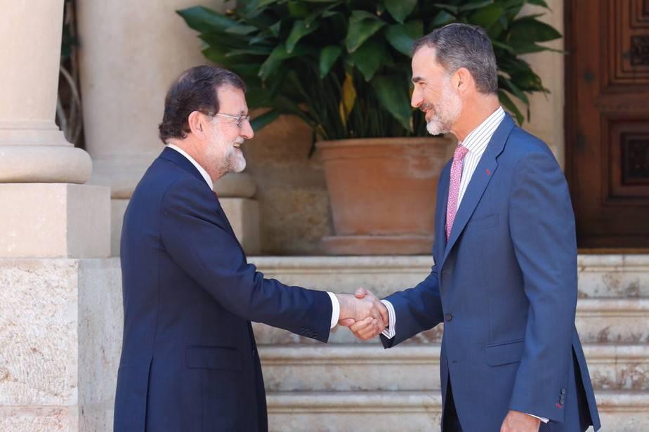 Mariano Rajoy - Felipe VI