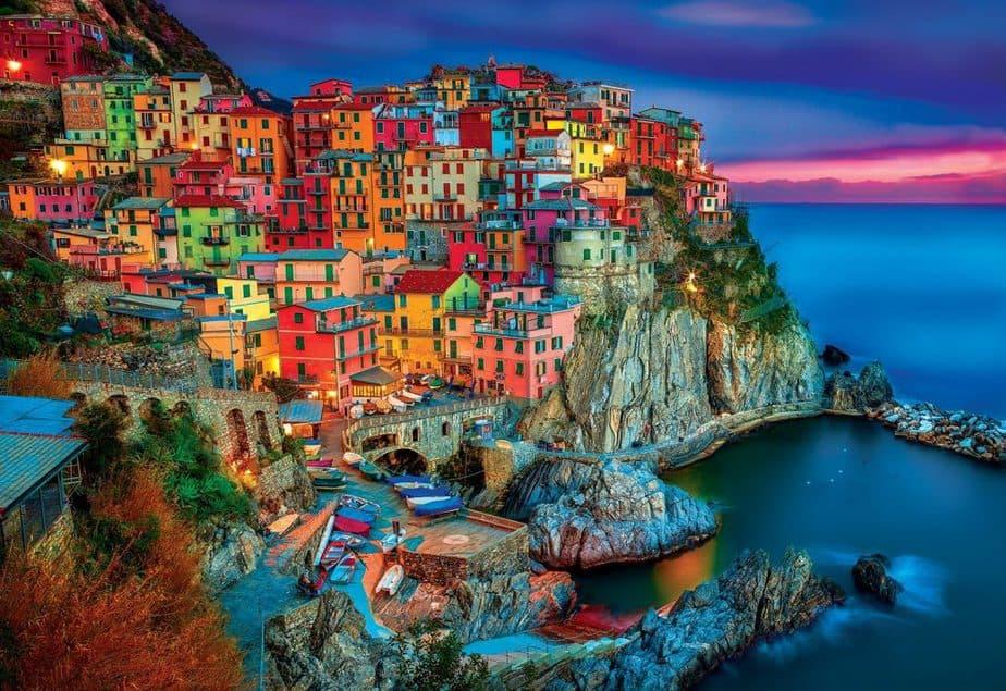 Pueblo en Riviera Italiana