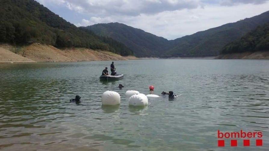 Susqueda El coche de los jóvenes desaparecidos no cayó por accidente al pantano, según los investigadores