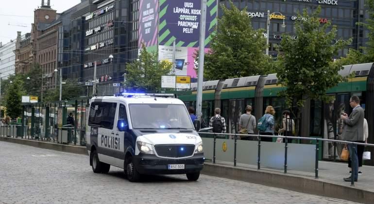 La policía ha tenido al autor del ataque y a otras cuatro personas