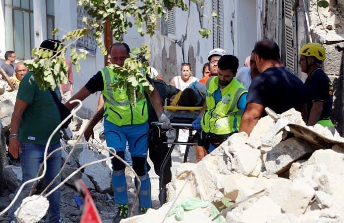 Un terremoto en la isla italiana de Ischia causa al menos dos muertos y decenas de desaparecidos
