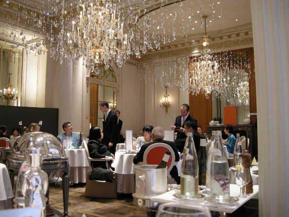 Restaurante Alain Ducasse en Paris