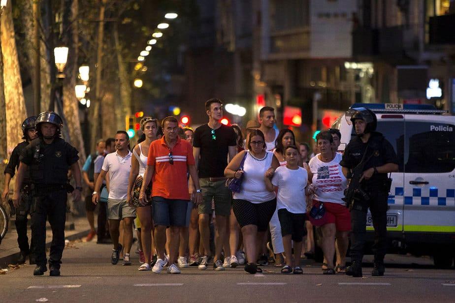 Barcelona - Atentado y barbarie terrorista en la Rambla