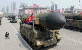 Corea del Norte -Desfile en Pyongyang