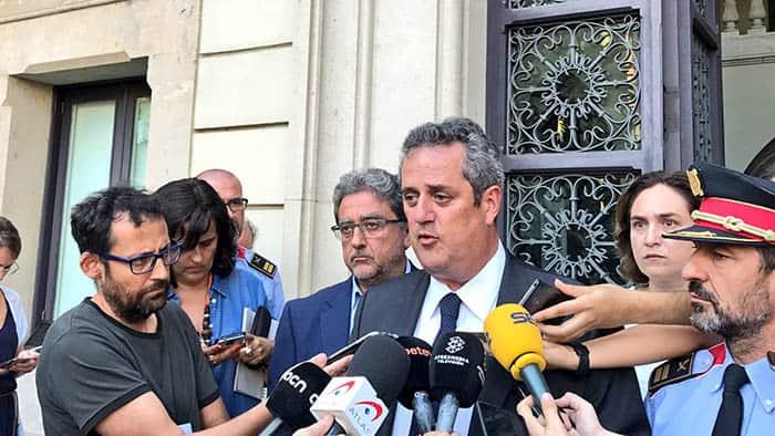 El conseller de Interior de Cataluña, Joaquim Forn.