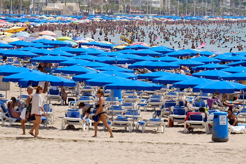 El gasto de los turistas volvió a crecer en junio.