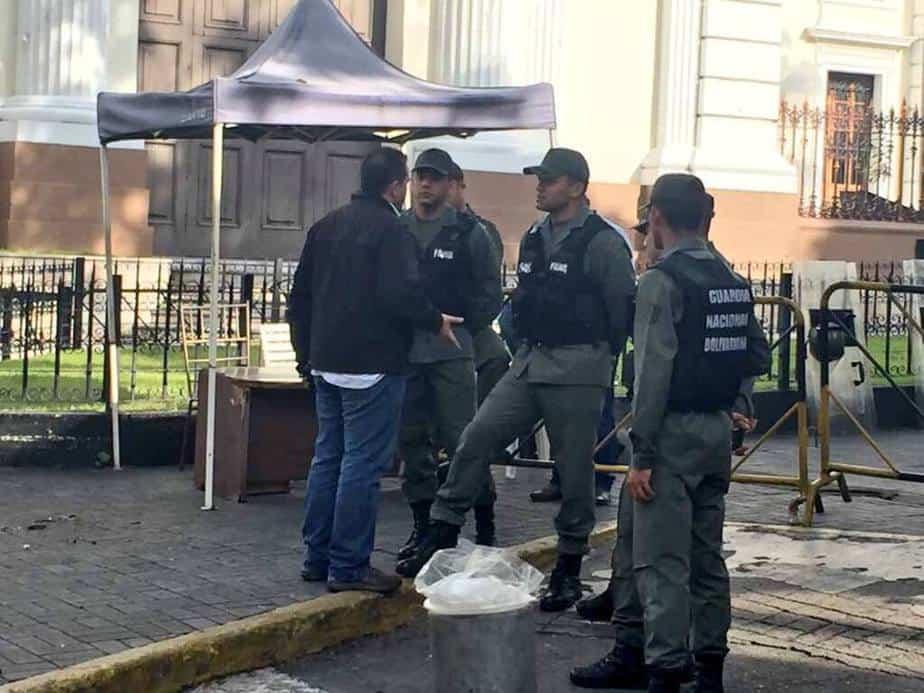 Guardia Nacional - Parlamento de Venezuela