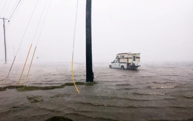 Daños por el paso del Huracan Harvey por Texas. Foto: Reuters
