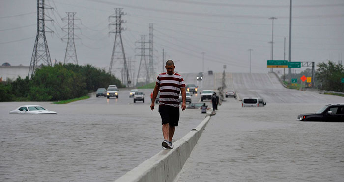 Huracan Harvey en Texas