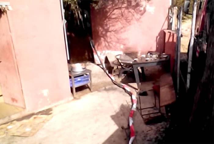 Incendio en un hotel de Tarifa.