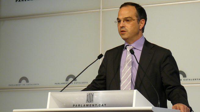 Jordi Turull en el Parlamento catalán