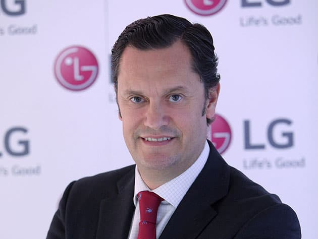 El director europeo de Marketing de LG Mobile Communications, Elías Fullana.