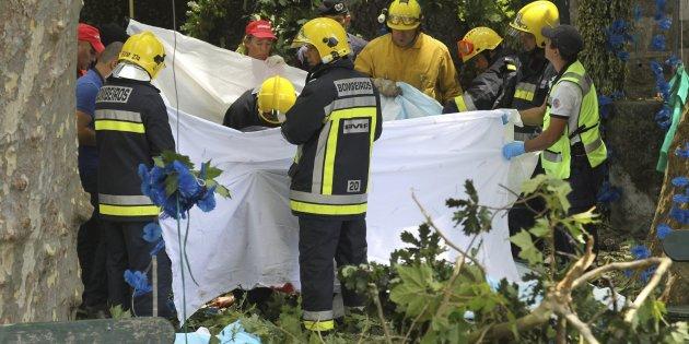 Accidente en Madeira