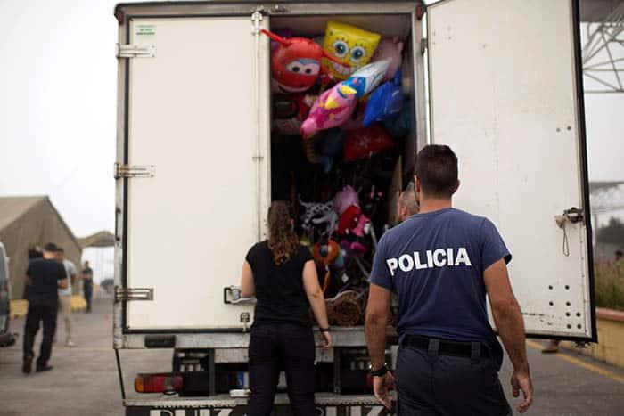 Transporte de mercancías en Ceuta.